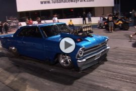 blown chevy nova engine fail at high speed