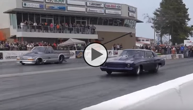 Street Outlaws Doc Street Beast vs Larry Larson In a Real